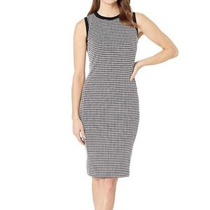 Lauren Ralph Lauren Sleeveless Houndstooth Dress